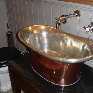 Fox and Anchor Bathroom Detail