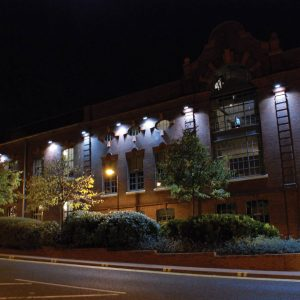 HDV Newcastle at night