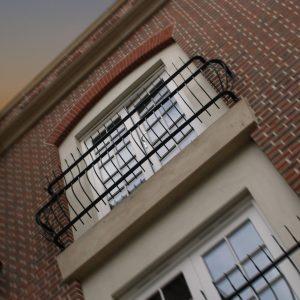 HdV Poole, Dorset Julliette Balcony detail