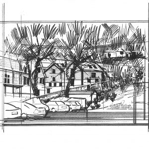 Proposed sketch from road