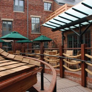 HDV Newcastle Courtyard