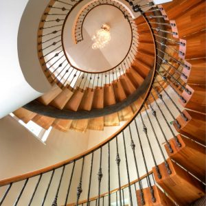 South Sands Hotel Staircase